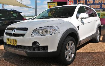 2007 Holden Captiva LX 4X4 CG MY08