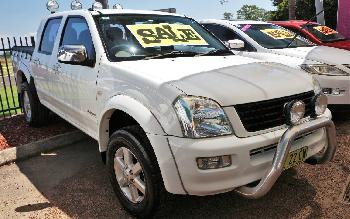 2004 Holden Rodeo LT RA